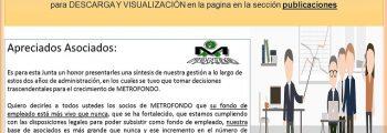 Informe de Junta Directiva